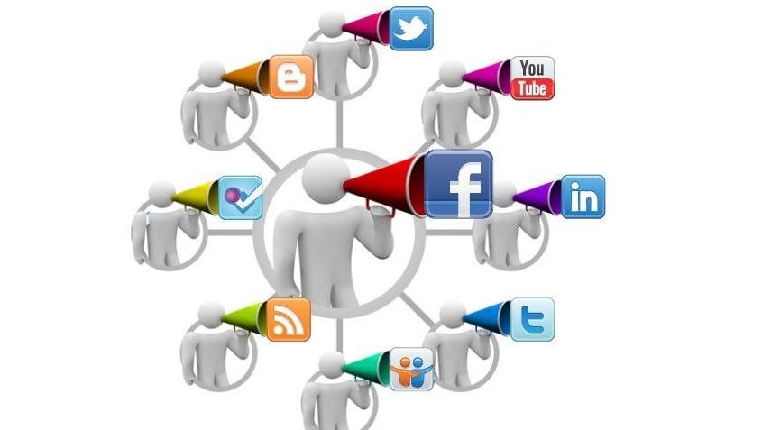 社交能力矢量图