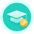 教育机构小程序客服图标